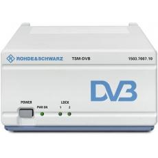 Тестовый приемник DVB-T/H с несколькими антеннами R&S®TSM-DVB