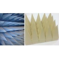 Широкополосный радиопоглощающий материал пирамидального типа 4ТЕСТ