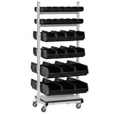Двухсторонняя подкатная стойка для комплектующих СКМ