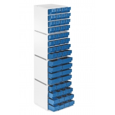 Модульная стационарная стойка для хранения компонентов