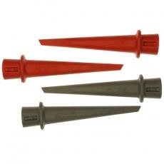 HC200 - Набор зажимов типа «крючок», набор из 4-х единиц (2 красных, 2 серых) для щупов серии VPS200