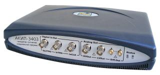 Генераторы сигналов произвольной формы  AКИП-3403; AКИП-3403/1