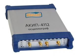 Цифровые стробоскопические USB-осциллографы АКИП-4112, АКИП-4112/1