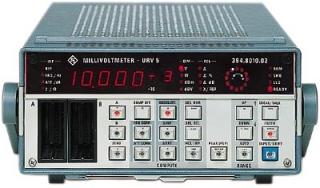 Милливольтметр R&S®URV5