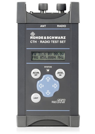 R&S®CTH100A / R&S®CTH200A — портативные тестеры для проверки радиостанций