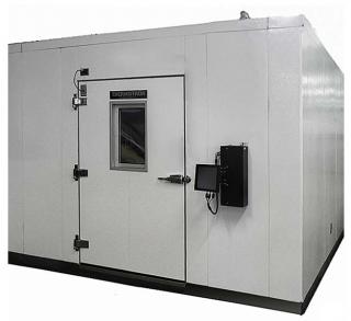Панельные и сварные климатичекие камеры серии WP