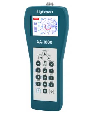 RigExpert AA-1000 (от 0.1 до 1000 МГц)