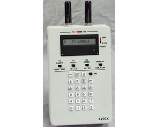 Ручной приемник и анализатор шины данных бортового оборудования ARINC 429EX