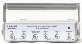 АСК-3107 L Четырехканальный осциллограф - приставка