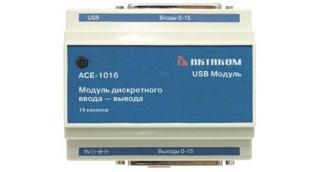 АСЕ-1016 Модуль дискретного ввода - вывода